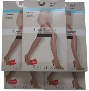 Hanes 5 Pairs Hanes Solutions Sheer Support