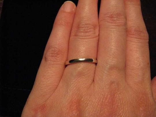 Unknown Sterling Wedding Band Sz 6