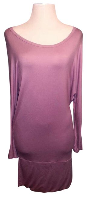 Preload https://item1.tradesy.com/images/newport-news-lavender-and-brown-mini-night-out-dress-size-10-m-383565-0-0.jpg?width=400&height=650