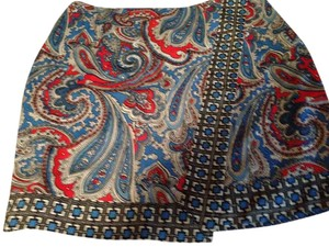 New York & Company Skirt Paisley