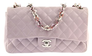 Chanel Valentine Heart Chain Icon Charm Shoulder Bag