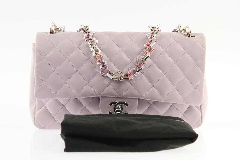 aafdc20ff150 Chanel Valentine Heart Chain Icon Charm Shoulder Bag Image 11.  123456789101112