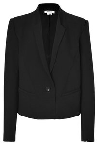 Helmut Lang Suiting Suit Jacket Wool Single Breasted Tailored Detail Grey Black Blazer