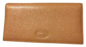Longchamp Longchamp Beige Leather Wallet