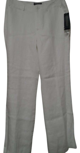 Lauren by Ralph Lauren Wide Leg Pants WHITE