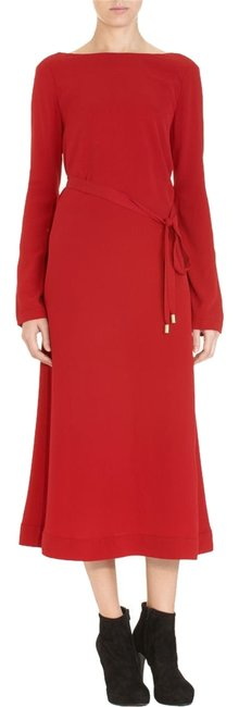 Item - Red Dvf Jacqueline Fits - 4 Long Casual Maxi Dress Size 2 (XS)