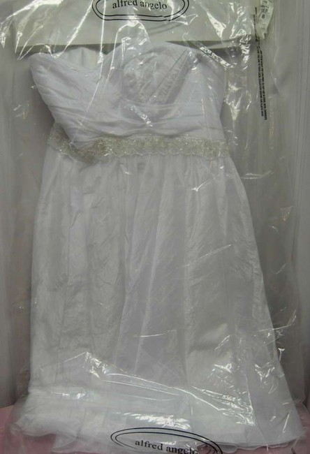 Alfred Angelo Wedding Tea Length Cute Dress