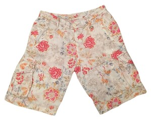 Mason's Made In Italy Cargo Shorts floral