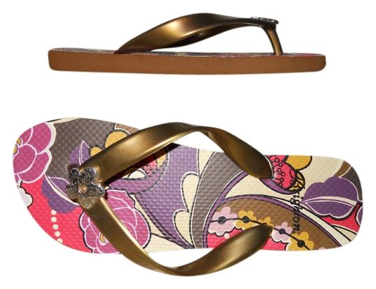 Brighton gold multi Sandals