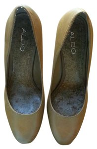 Aldo Cork Beige Pumps