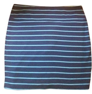 Xhilaration Casual Skirt Blue