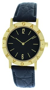 BVLGARI Bvlgari Bulgari BB 33 GL 18K Yellow Gold Quartz 33mm Watch