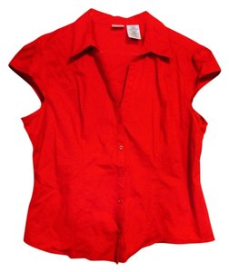 No Boundaries Button Down Shirt Red