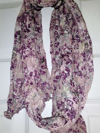 Other Sheer Flower Scarf/Wrap