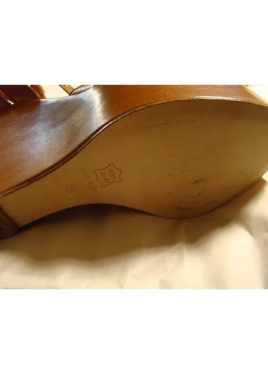 Barneys Co-Op tan Wedges