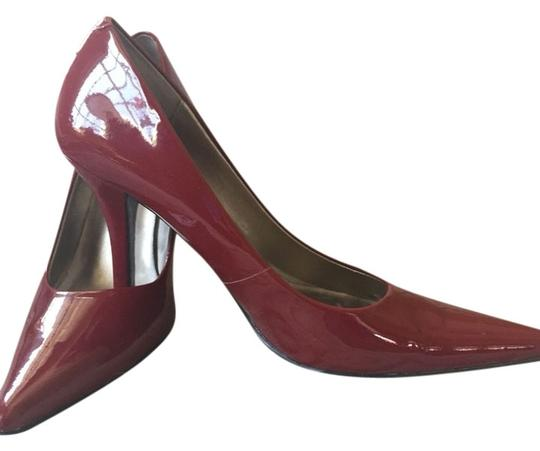 Nine West Dark Red Pumps
