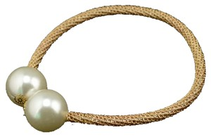 Beautiful Double Pearl Flexible Necklace