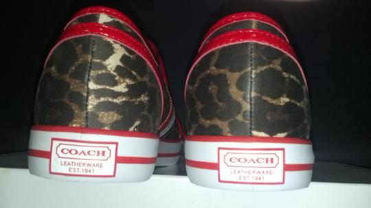 Coach Multi-Color/Brown/Red/White Athletic
