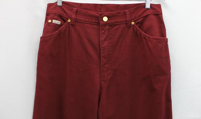 Escada Margaretha Ley Straight Pants BURGUNDY