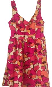 Judith March short dress Pink Poppy Floral on Tradesy