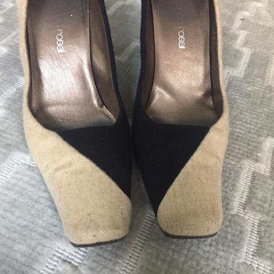 Sergio Rossi Black/Beige Pumps