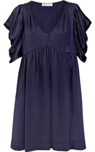 See by Chloé short dress Midnight Blue on Tradesy