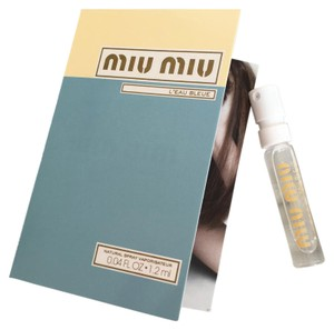 Miu Miu MIU MIU L'EAU BLEUE Natural Spray Perfume