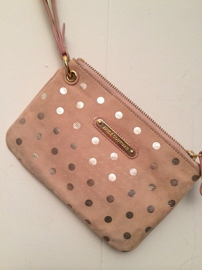 Juicy Couture Wristlet in Dusty Pink