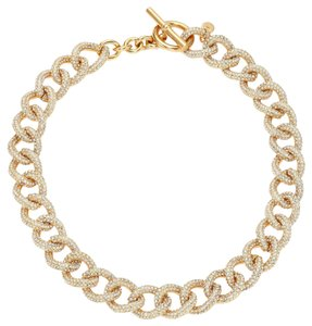 Michael Kors Michael Kors Brilliance Statement Pave Chain Toggle Necklace