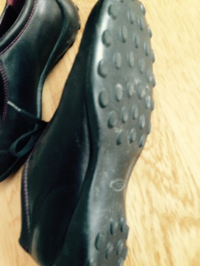 Tod's Shie Leather Black Athletic