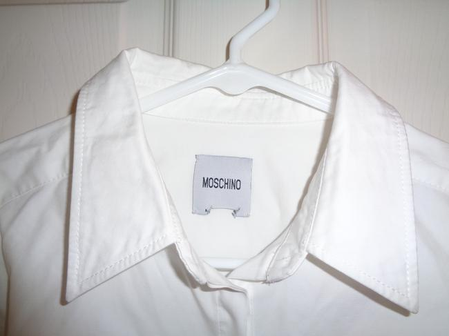 Moschino Button Down Shirt White Image 3