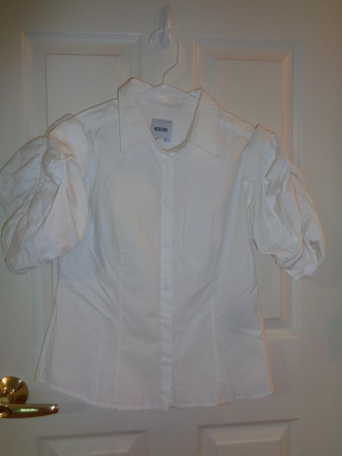 Moschino Button Down Shirt White Image 5