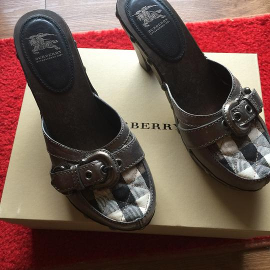 Burberry Brown Mules