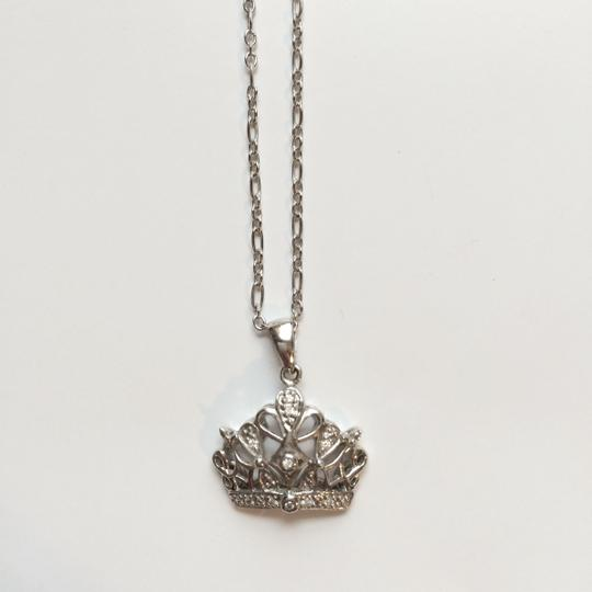 Bailey Banks Biddle Bailey Banks & Biddle Sterling Silver Crown Necklace