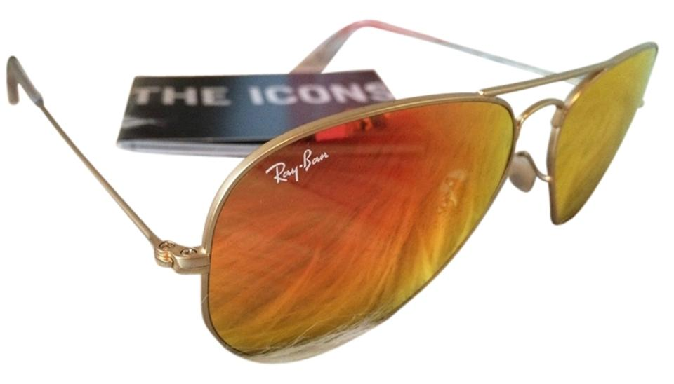 ff6b95628ba21 ... 112 69 orange c58a1 9b91d  low price ray ban authentic ray ban aviator  flash sunglasses rb3025 orange mirror lens with gold