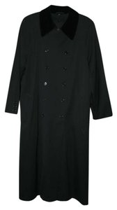 Anne Klein Velvet Winter Full-length Raincoat