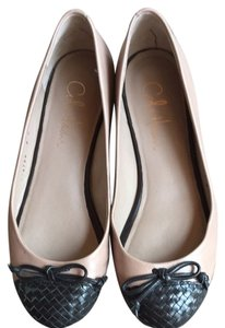 Cole Haan Tan And Black Flats