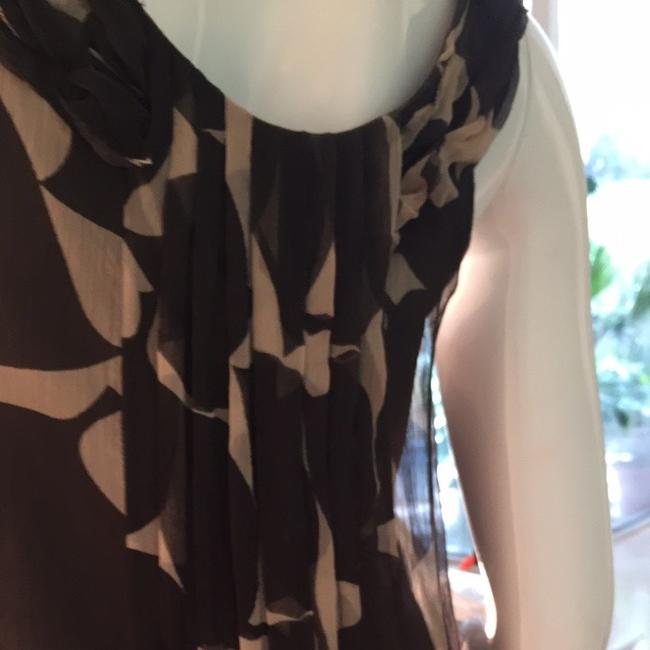 Brown And Beige Maxi Dress by Development by Erica Davies