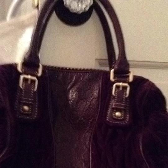 Juicy Couture Satchel in Plum Purple