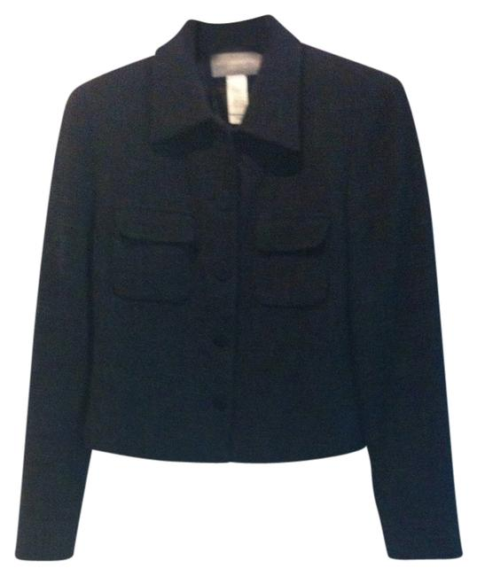 Preload https://img-static.tradesy.com/item/384620/liz-claiborne-black-with-gray-in-woven-texture-linen-blend-lined-top-quality-jacket-professional-bla-0-0-650-650.jpg