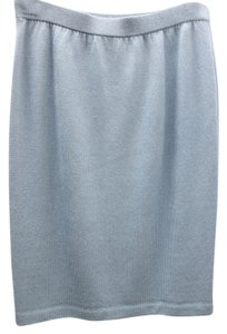 St. John Evening Skirt LIGHT BLUE