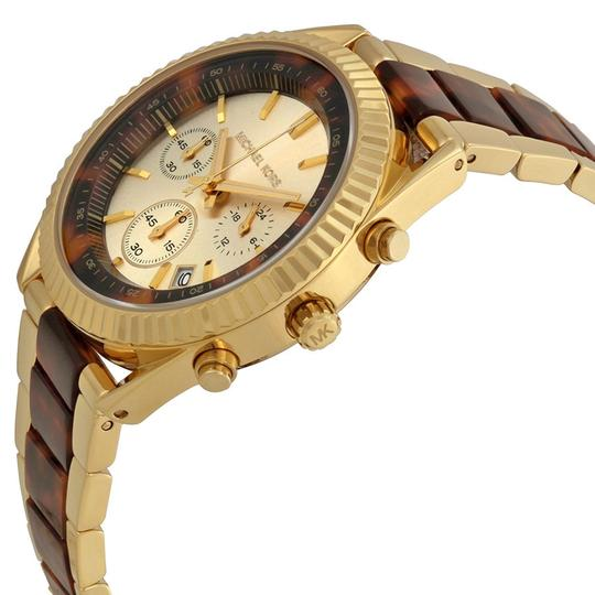 Michael Kors Michael Kors Champagne and Tortoise Shell Dial Ladies Watch