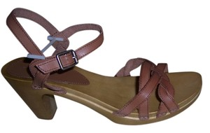 American Eagle Outfitters Saddle tan Mules