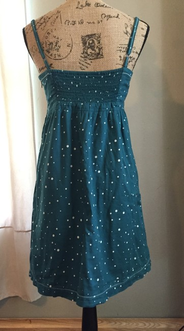American Eagle Outfitters short dress Teal and White on Tradesy