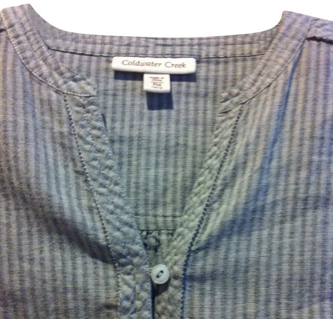 Preload https://img-static.tradesy.com/item/384766/coldwater-creek-gray-and-gray-stripe-all-cotton-comfy-great-details-p-m-10-12-tunic-size-petite-8-m-0-1-650-650.jpg