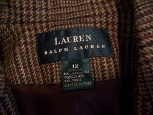 Lauren Ralph Lauren Brown Tweed Blazer
