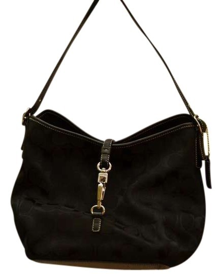 Coach Jacquard Hobo Bag