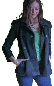 Donna Karan New York Alpaca Pea Coat