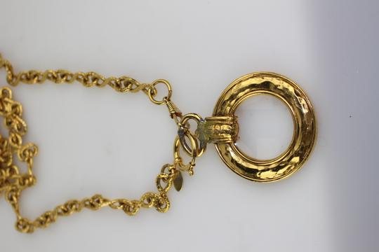 Chanel [ENTERPRISE] Chanel Loop Necklace Charm Magnifiier CCAV320