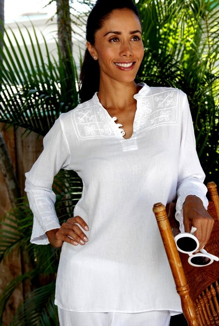 Lirome Resort Cozy Casual Organic Tunic